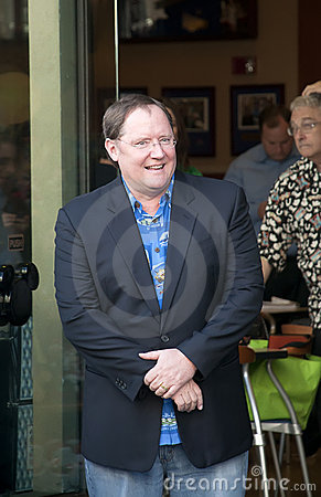 American animator, director John Lasseter Editorial Photo
