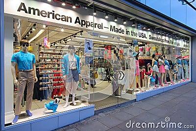 American Apparel Editorial Image