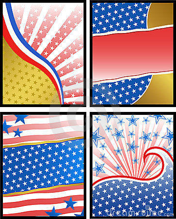 American backgrounds