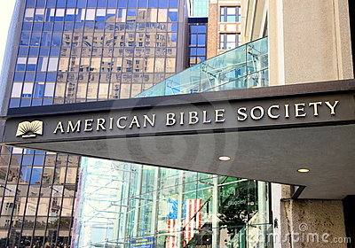 American Bible Society Editorial Image