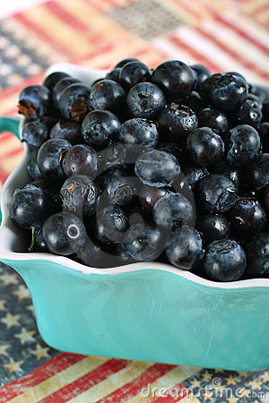 American blueberries