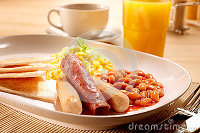 American Breakfast set