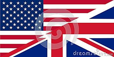 American and British English icon