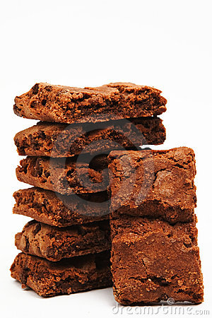 Free American Brownies Royalty Free Stock Photo - 5199045