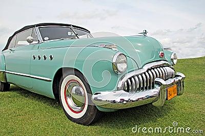 American buick vintage car