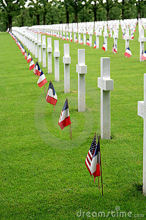American Cemetery in France