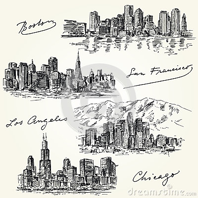 American cities skylines