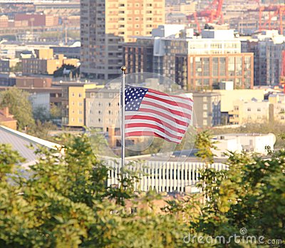 An american city