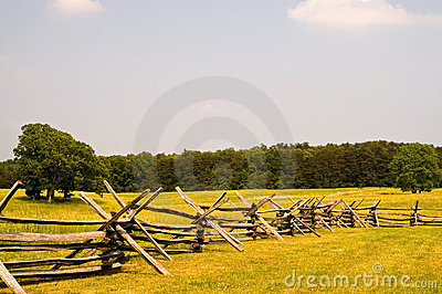 American Civil War battlefield
