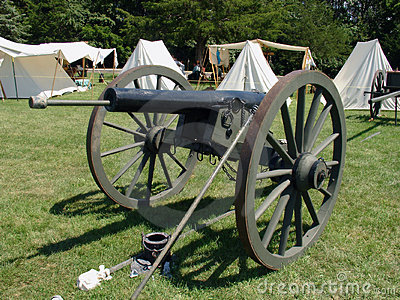 American Civil War Cannon Stock Images - Image: 1120774