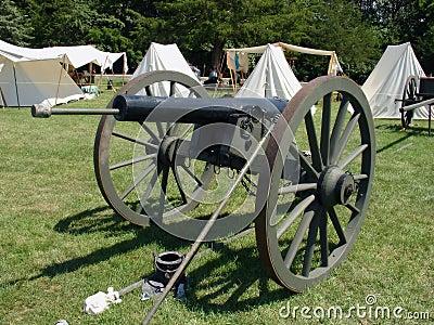 American civil war cannon