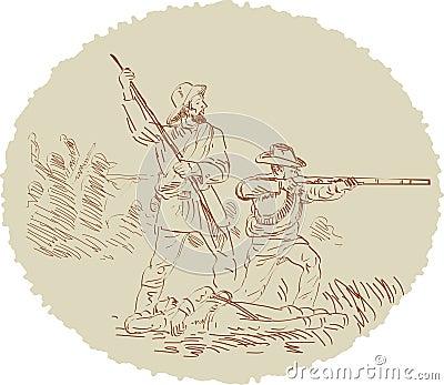 American civil war fighters