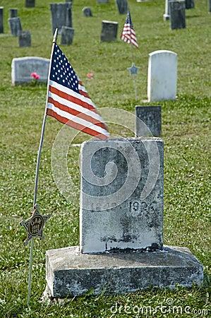 American Civil War Grave Marker