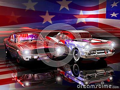 American classic automobiles