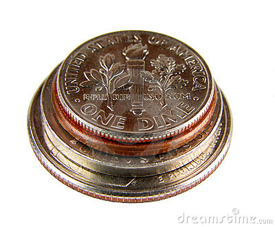 American coins cone