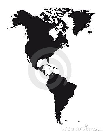 American continent