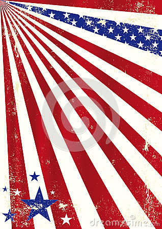 American Cool Dirty Background Royalty Free Stock Photos