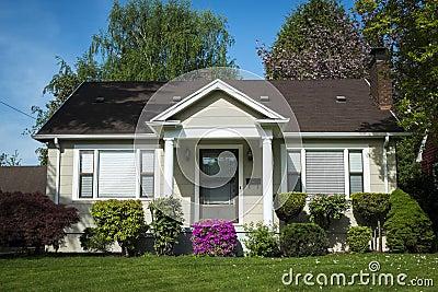 American craftsman house