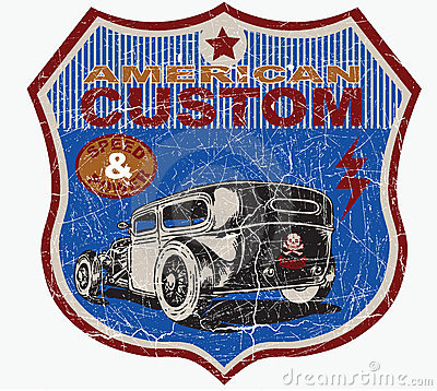Free American Custom Stock Images - 20995364