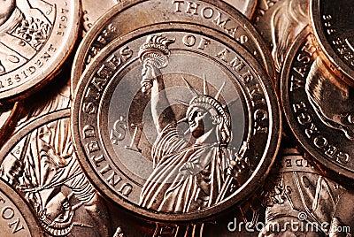 American Dollar Coin Reverse