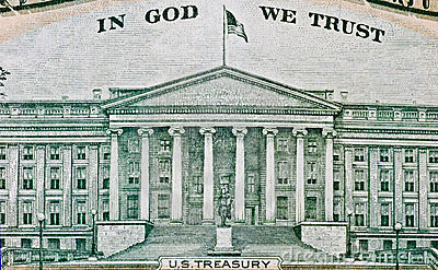 American dollar texture