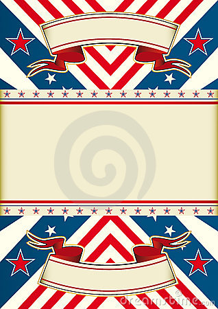American dream flag