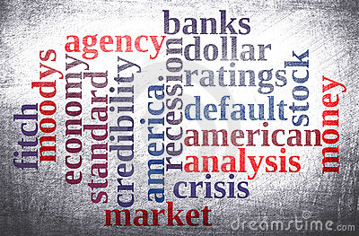 American economy word cloud