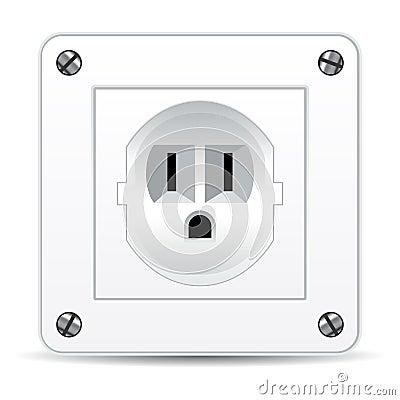 American electric plug
