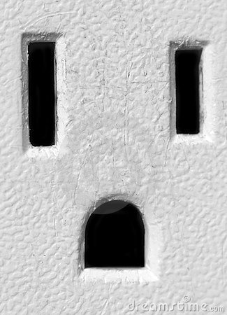 American Electrical Outlet Stock Images - Image: 14969554