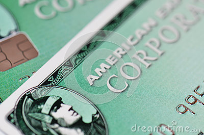 American Express Editorial Stock Photo