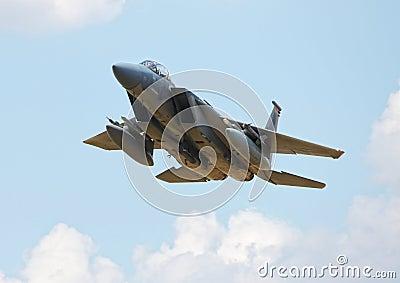 American F15 fighter jet
