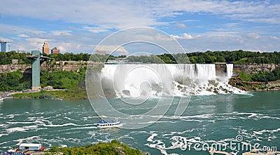 American Falls, Niagara Falls Editorial Stock Image