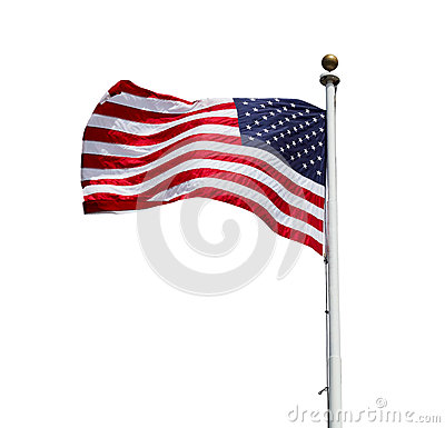 Free American Flag Royalty Free Stock Photography - 32077967