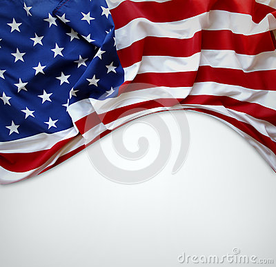 Free American Flag Royalty Free Stock Photo - 34998185