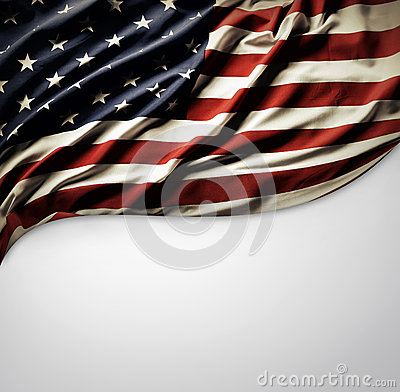 Free American Flag Royalty Free Stock Photography - 35769727