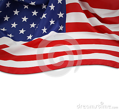 Free American Flag Royalty Free Stock Photo - 38679755