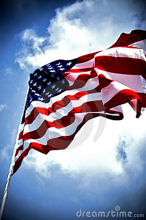 Free American Flag Stock Image - 5667631