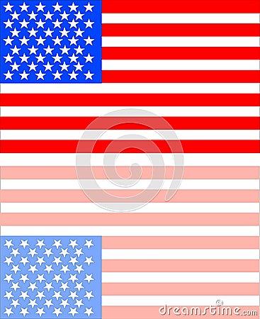 1824 American Flag