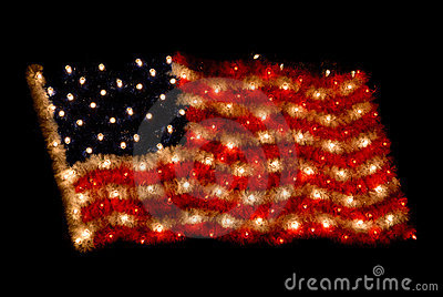American Flag Lights Free Stock Photos Pictures Royalty Public Domain