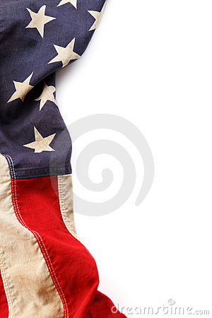 Free American Flag Border Stock Photography - 22367942