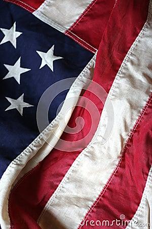 Free American Flag Close Up 2 Stock Photos - 2518363