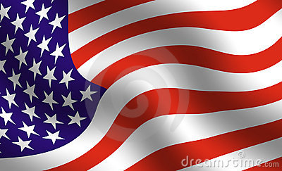 American Flag Detail Royalty Free Stock Photography - Image: 46307