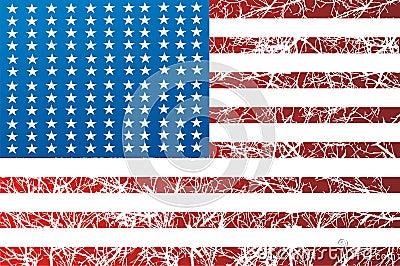 American Flag Graphic