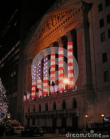 Free American Flag Illuminations Stock Photography - 54472