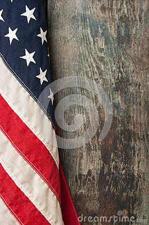 Awesome Rustic American Flag By Woodencrossshop