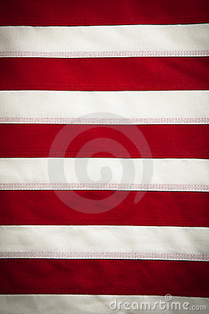 American Flag, red and white stripes background