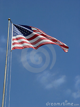 American Flag - tall and proud