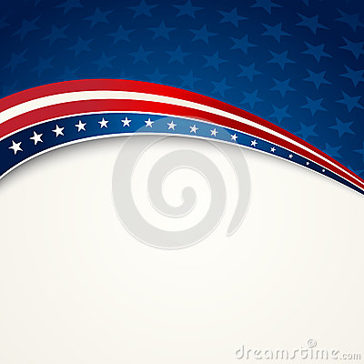 Free American Flag, Vector Patriotic Background Stock Image - 54323031