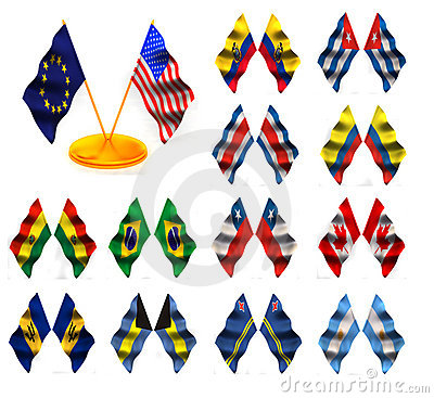 American flags 1