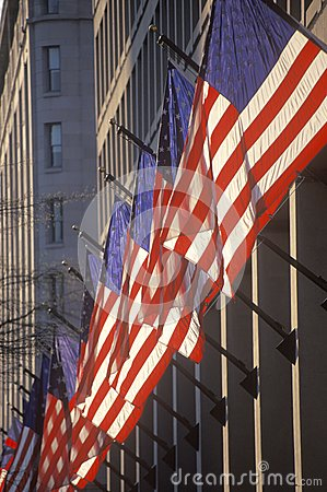 American Flags Stock Images - Image: 26891024